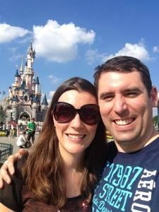 Mr and Mrs Lighty turning 31 in Disneyland Paris!