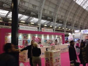 The Prima Baby Magazine stand. The goody bag was definitely one of the highights of both shows for Mrs Lighty!