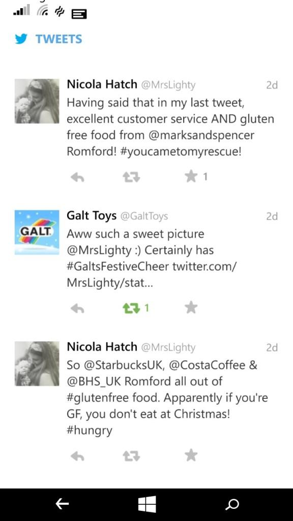 GF Tweets