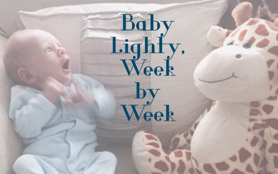 Baby Lighty, Week by Week